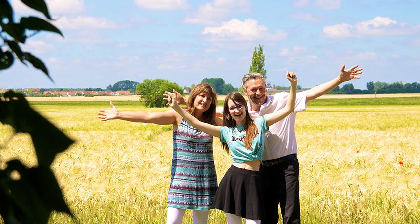 Die Familie Deutschland-Riegel, Vater, Mutter, Kind