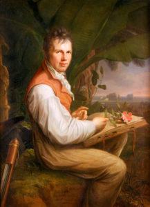Alexander von Humboldt Gemälde von Friedrich Georg Weitsch