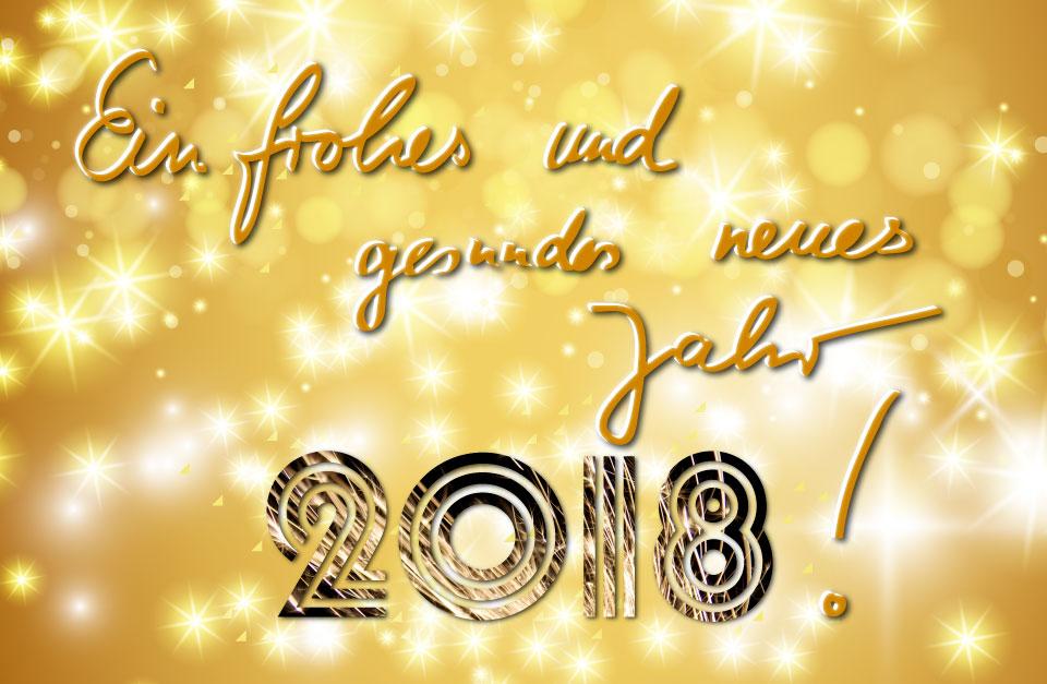 Euch allen ein frohes und gesundes neues Jahr! | DeutschLand-Riegel