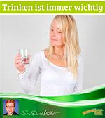 Trinken ist immer wichtig, Sven-David Müller, DeutschLand-Riegel