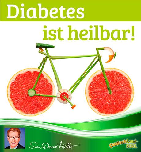 Diabetes ist heilbar! Sven-David Müller, Beitrag für den DeutschLand-Riegel