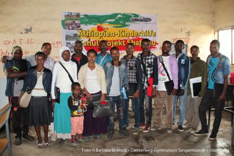 Äthiopien-Kinderhilfe, Shafamu, Diesterweg-Gymnasium Tangermünde – Havelberg, direkte Hilfe, Hilfe vor Ort, privat organisiert