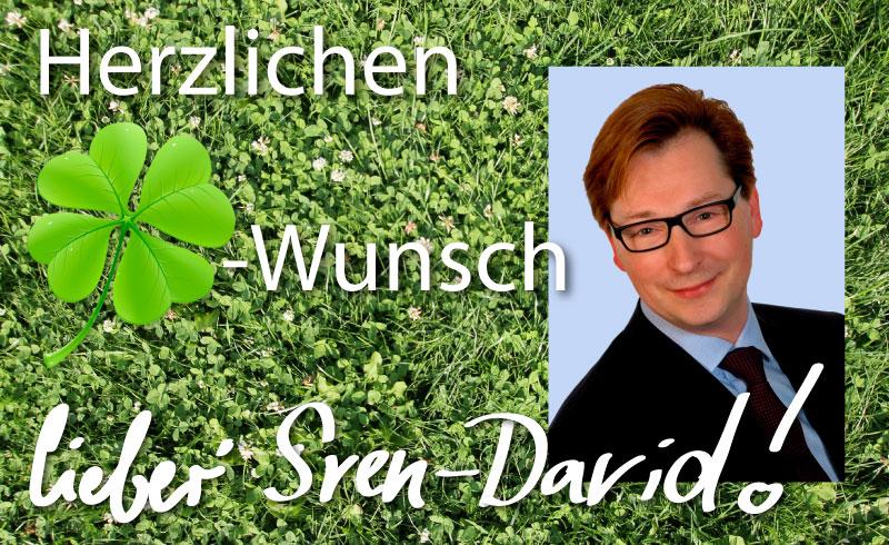 Herzlichen Glückwunsch, Sven-David Müller, DeutschLand-Riegel, berufung in mehrere Ämter