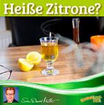 Heiße Zitrone, Glas mit Tee und Honig, gesunde Ernährung, was muss man beachten?, Temperatur