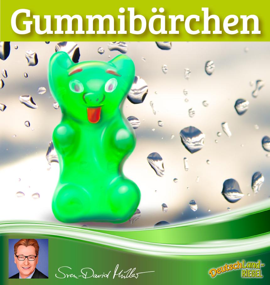 Gummibärchen, gesund oder nicht?, Fettgehalt, Zuckergehalt, gesunde Ernährung, Beitrag von Sven-David Müller
