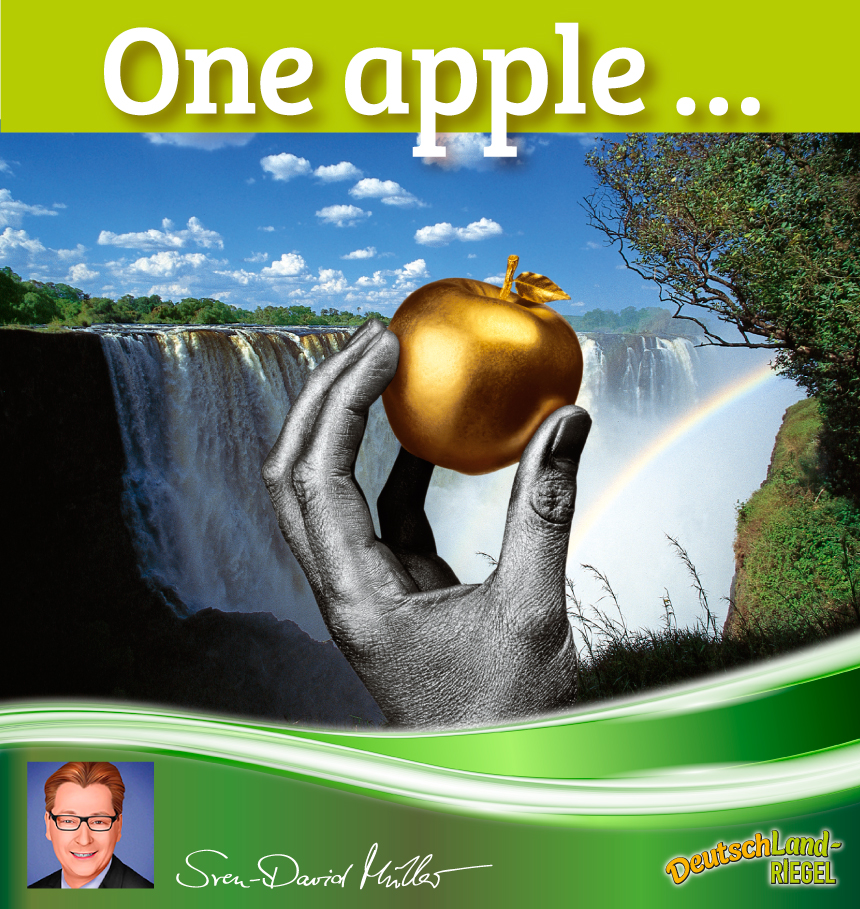 One apple a day keeps the doctor away, Was steckt im Apfel drinnen, gesunde Ernährung