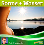 Sonne, Wasser, schwitzen, Wasser genießen, trinken, Wasserhaushalt, gesunde Ernährung
