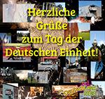 Herzliche Grüße zum Tag der Deutschen Einheit!