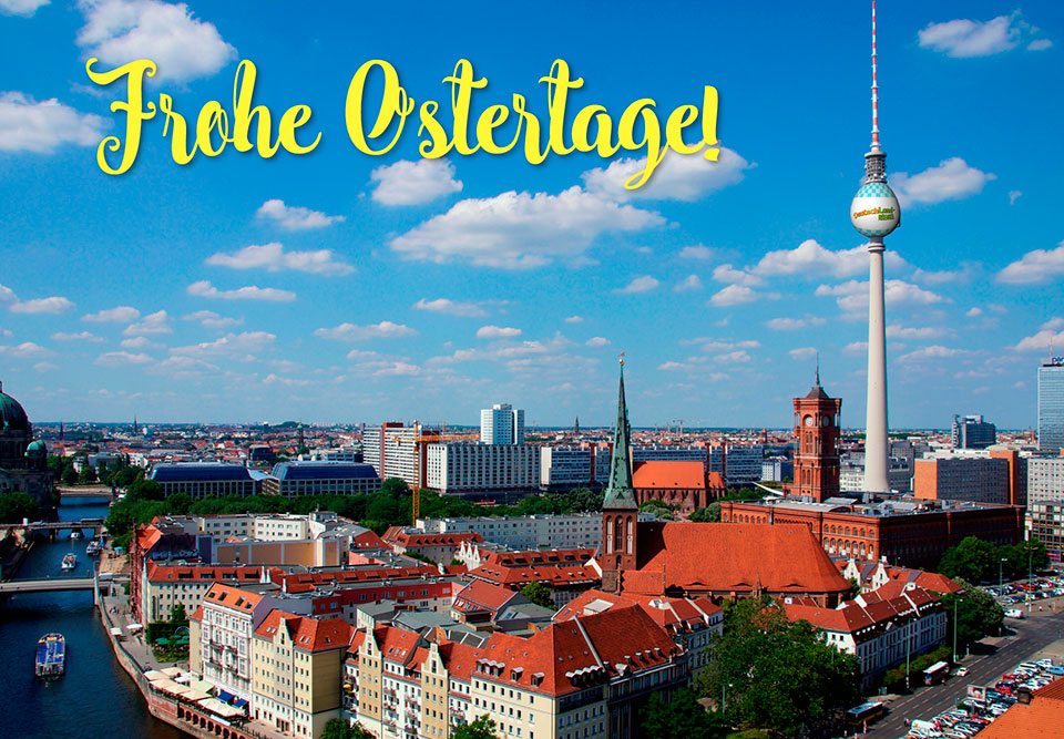Frohe Ostertage, Berliner fernsehturm