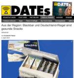 Dates, Magazin, Bericht über Deutschland-Riegel und blackbar, Magdebur