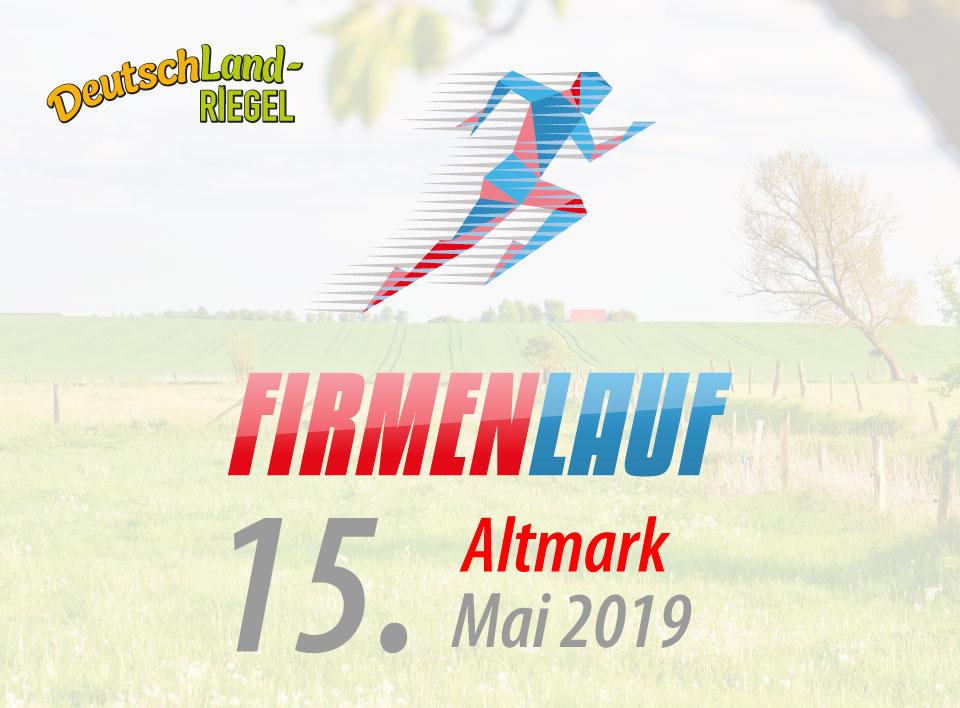 Firmenlauf Altmark zusammen mit DeutschLand-Riegel, 2019