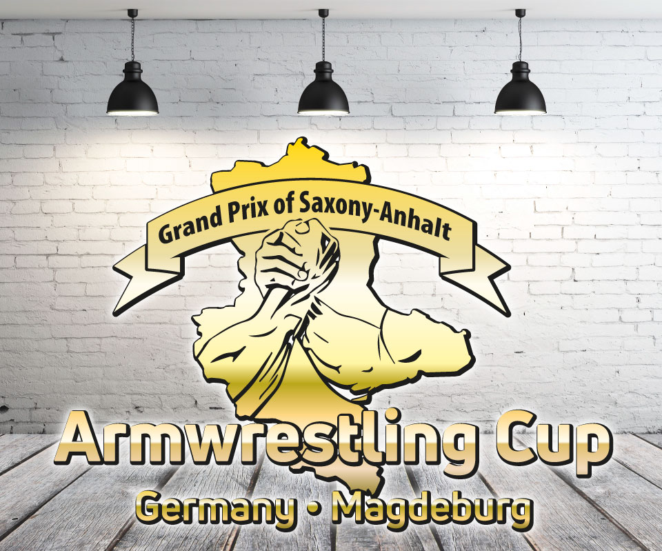 Logo International Armwrestling Cup Germany, Grand Prix of Saxony-Anhalt, Magdeburg