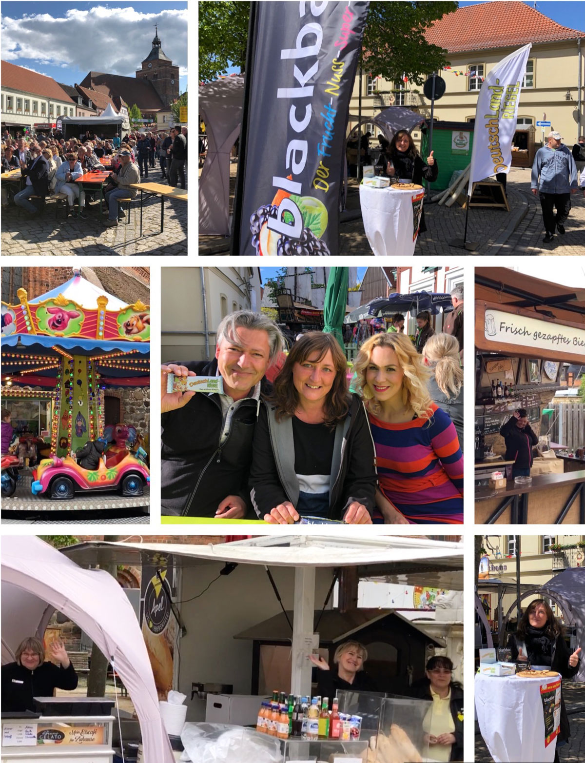 Stadtfest Osterburg, Fest, Feiern, EDEKA Apel, Karina Klüber