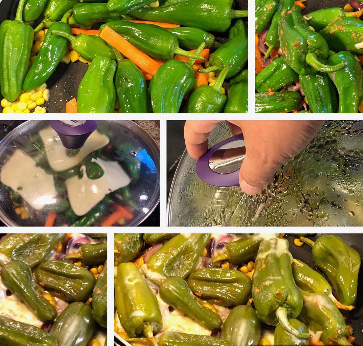 schnelle leckere Pfanne, Gemüse