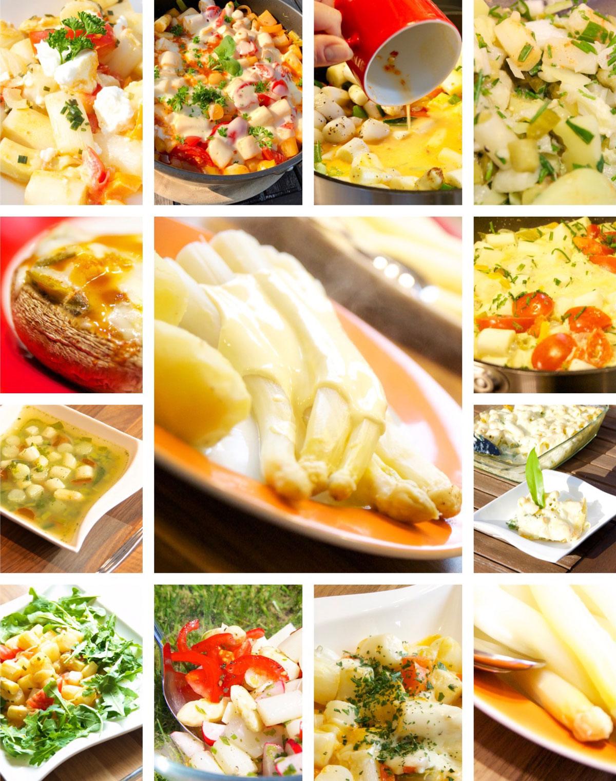 Spargel, Spargelsaison endet, letzte Möglichkeit, gesundes Gemüse, Zubereitungsmöglichkeiten, Variationsmöglichkeiten, Kochen, überbacken