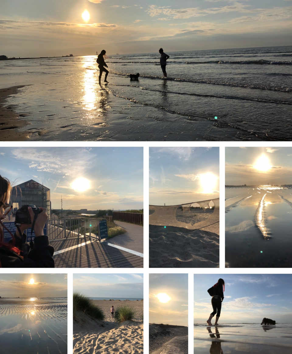 Dunkerque, Sonnenuntergang