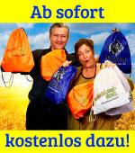 gratis, kostenlos, kostenfrei, Sportbeutel, Turnbeutel, Deutschland-Riegel, blackbar, riegel, weihnachten, geschenkidee