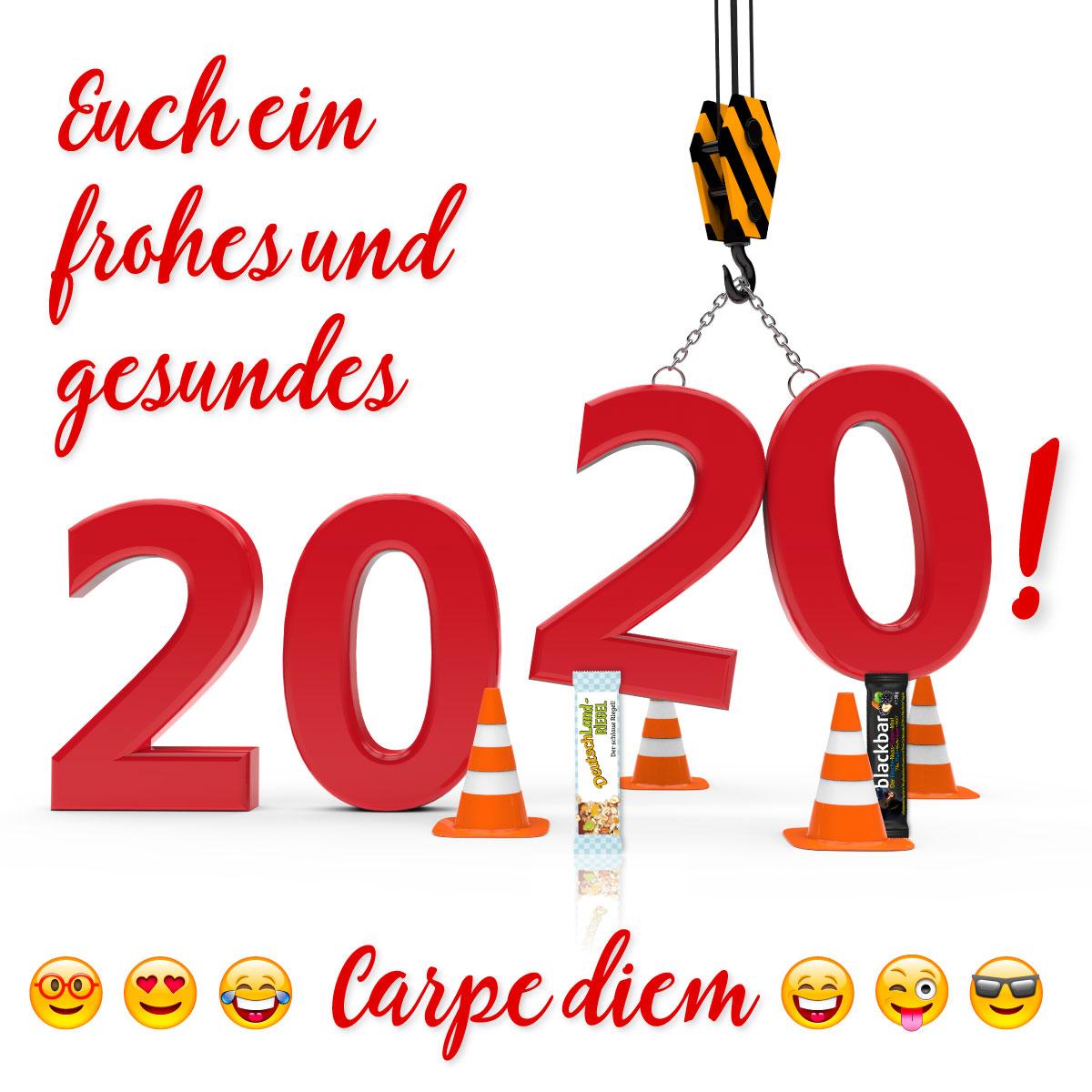 Euch ein frohes und gesundes 2020! Carpe diem!