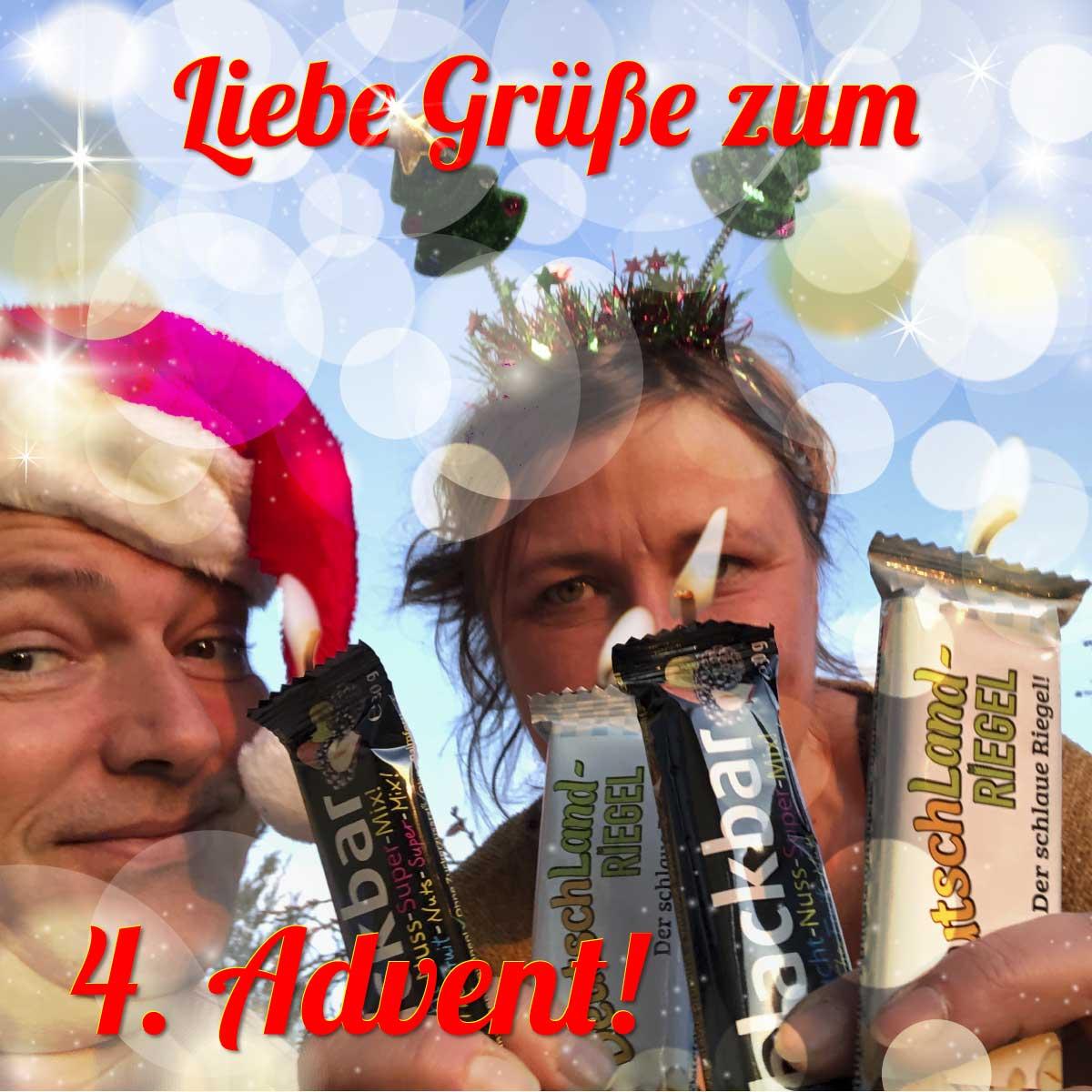 Liebe Grüße zum 4. Advent senden Diana und Andreas!