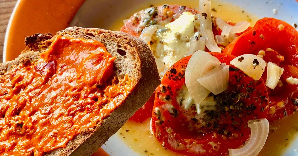 Tomatenpfanne, Rezept, lecker und gesund
