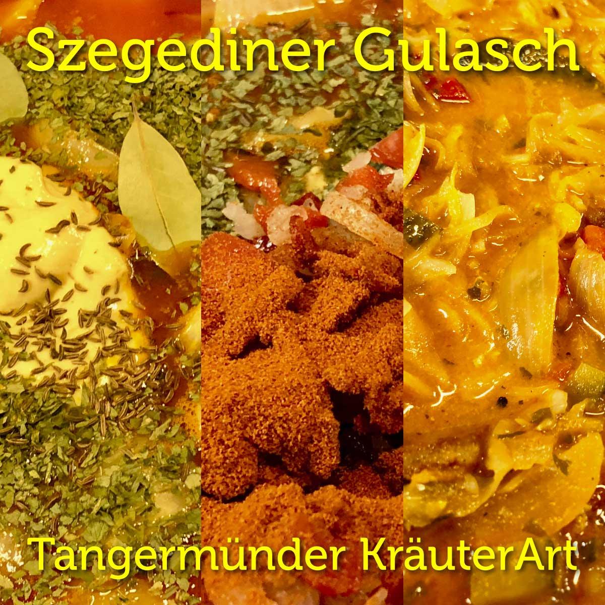Rezept, Szegediner Gulasch, Tangermünder KräuterArt, mit fermentiertem Sauerkraut, selbstgemacht, vegan, vegetarisch,