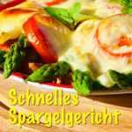 Spargelgericht, Essen, Rezept, Spargelbrot, Pesto, pochiertes Ei