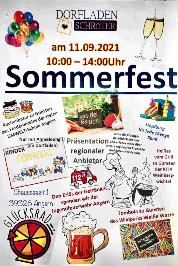 Sommerfest in Angern