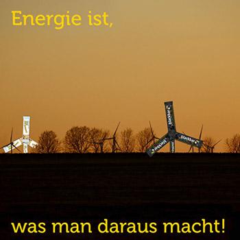 Energie, Windräder, Energiegewinnung, Quellen, Metapher